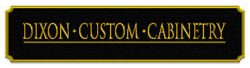 Dixon Custom Cabinetry Logo