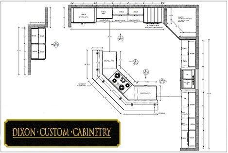 Average Kitchen Size Greensboro Kernersville Winston Salem Dixon Custom Cabinetry